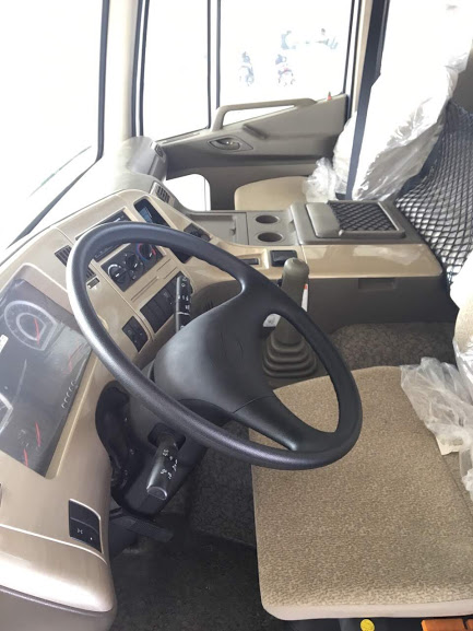 Nội thất xe daewoo 15 tấn