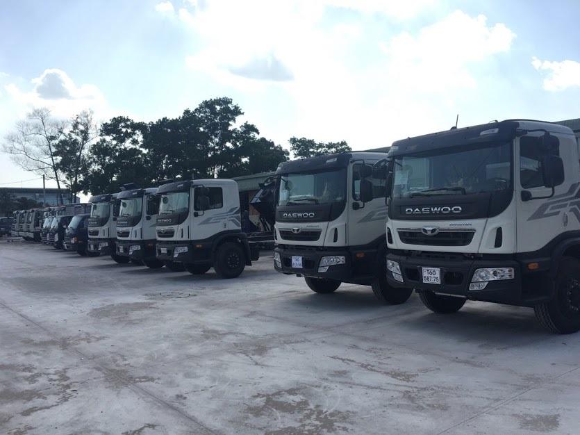 Xe tải daewoo prima 9 tấn