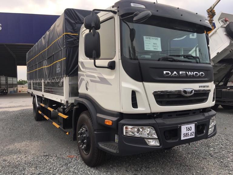 xe tải 9 tấn daewoo