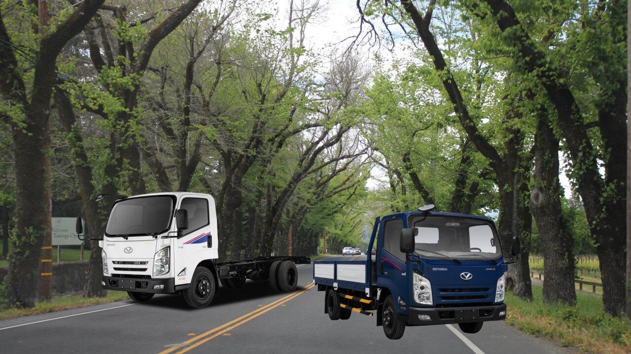 Hình xe tải Đô Thành