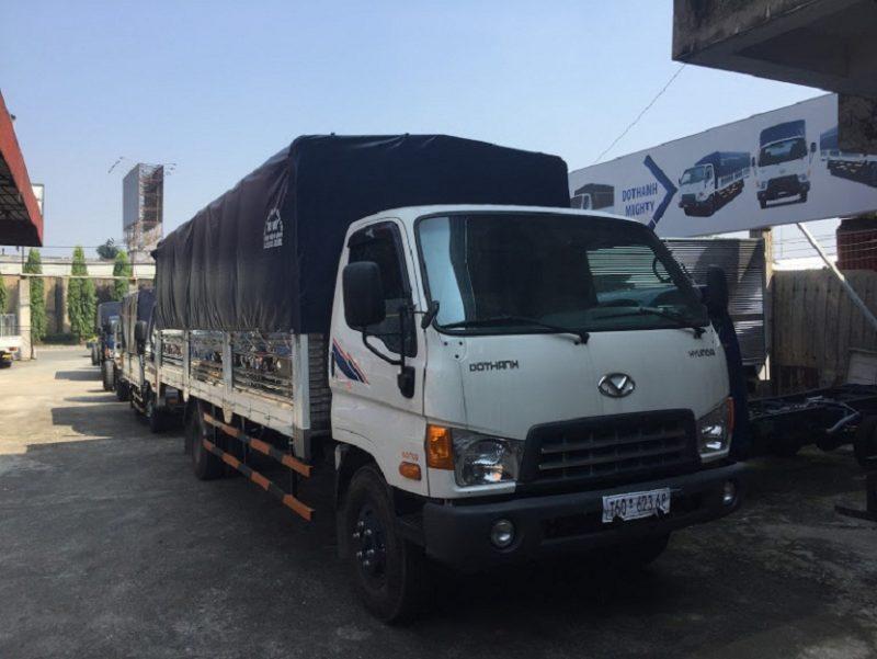 Xe bững nâng HD120SL 8 tấn