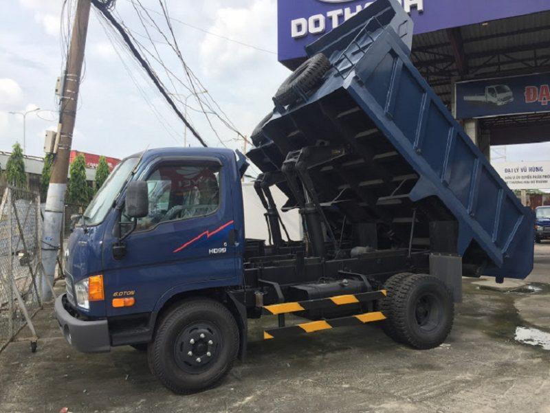 xe ben hd99 6 tấn