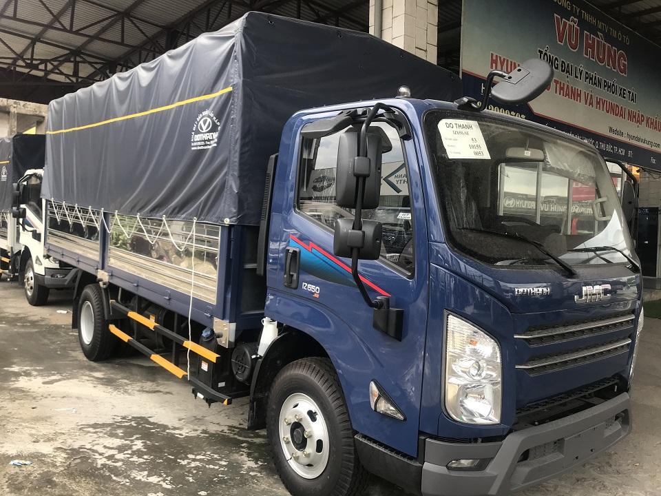 xe đô thành iz650 6.5 tấn